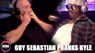 Guy Sebastian in disguise PRANKS Kyle Sandilands.For more from Kyle & Jackie O jump on our socials:Website: http://www.kiis1065.com.au/Facebook: https://www.facebook.com/kyleandjackieoshow/Instagram: @kyleandjackieoTwitter: @kyleandjackieo