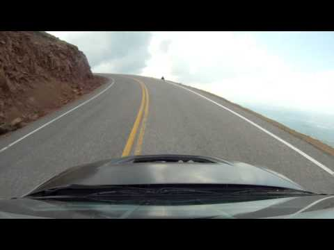 Jeremy Foley Pikes Peak Crash - Roof Cam View