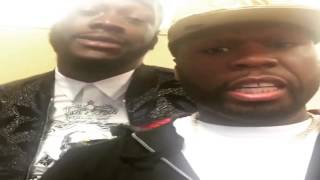 "50 Cent Warns Floyd Mayweather & His Fighter ""That Boy Out There In London Gonna Need A Gun"""