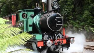 Queenstown Australia  City new picture : West Coast Wilderness Railway. Queenstown,Tasmania. Australia