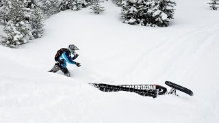 5. SnoWest Magazine's 2014 Deep Powder Challenge 800-class Mountain Sled Shootout