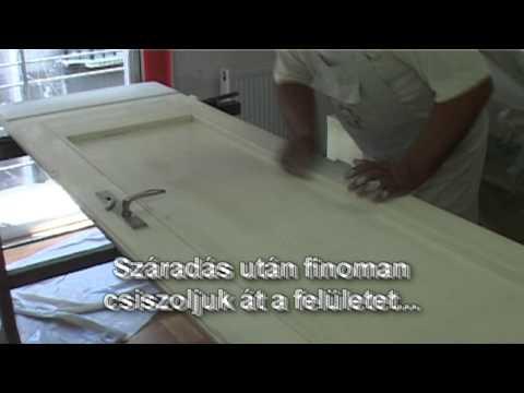 Szobafestő Attila: Az ajtók felújítása