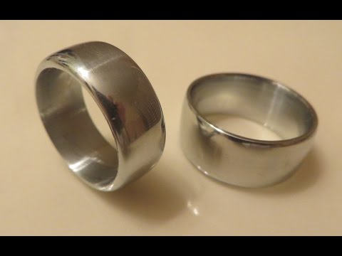 Using a simple mold to make ring blanks from zinc pennies