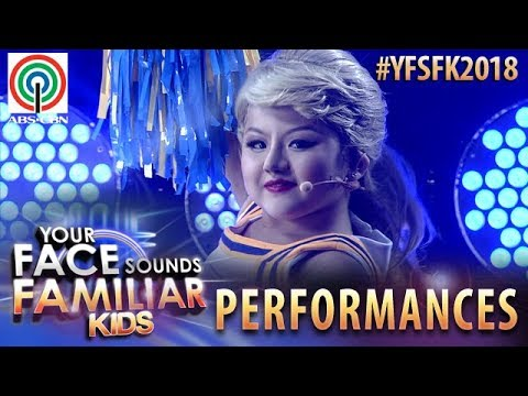 Your Face Sounds Familiar Kids 2018: Chunsa Jung as Taylor Swift | Shake It Off (видео)