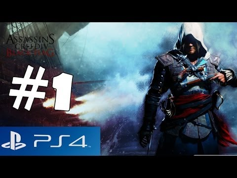 Assassin's Creed 4 Black Flag Walkthrough Part 1 PS4 Gameplay Let's Play Playthrough [1080p HD] IV