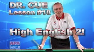 APA Dr. Cue Instruction - Dr. Cue Pool Lesson 18: High English Practice #2