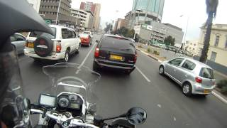 Harare Zimbabwe  city pictures gallery : Riding through Harare City Center Sept 2015
