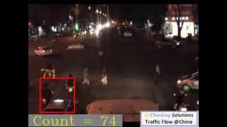 Maoming China  City pictures : CoThinking Traffic Flow Video @Maoming China Night