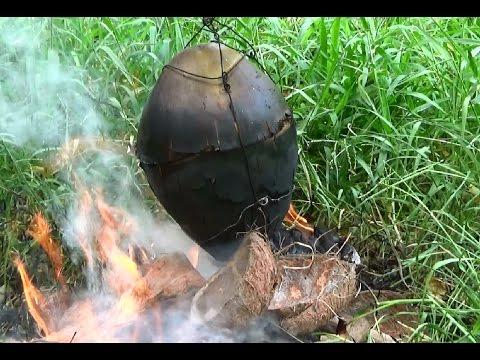 Gà nướng trái dừa biến tấu từ tôm luộc trái dừa - Thời lượng: 19:41.