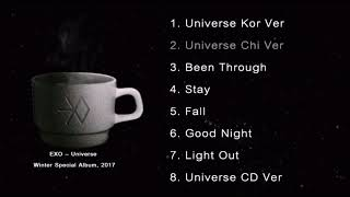 Video [Full Album] EXO - Universe Winter Special Album, 2017 MP3, 3GP, MP4, WEBM, AVI, FLV Desember 2018