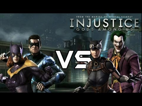 Bat Family Vs Batman's Rogues with Lore & Joker Skins!
