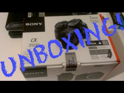 Unboxing My Sony Alpha 3500