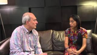 El crítico de cine Mario Giacomelli entrevista a María Mercedes Coroy, protagonista de la aclamada p