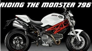 6. Test riding the Ducati Monster 796