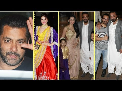Aamir Khan, Salman Khan, Jacqueline And Other Cele