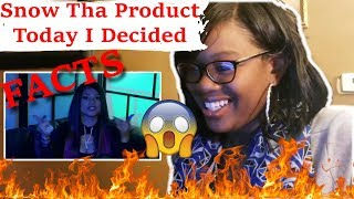 🔥Real Sh**💯 Mom reacts to Snow Tha Product - Today I Decided (Official Music Video) | Reaction