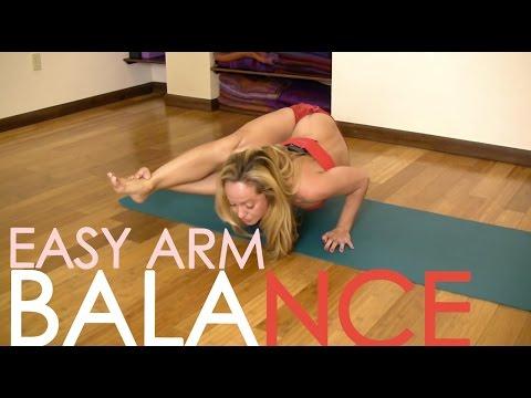 Yoga for Upper Body, Easy Arm Balance Astavakrasana with Kino MacGregor video