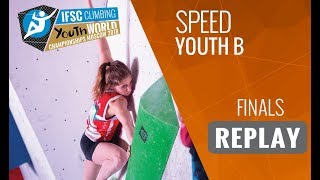 IFSC Youth World Championships Moscow 2018 - Speed - Finals - Youth B by International Federation of Sport Climbing