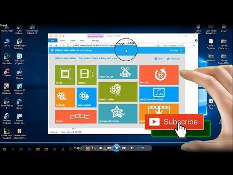برنامج تحرير وتعديل الفيديو GiliSoft Video Editor v 8.1.0 كامل مع التفعيل