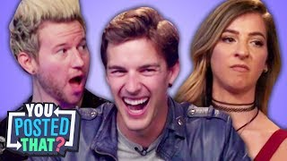Video MatPat, Gabbie Hanna, and Ricky Dillon | You Posted That? MP3, 3GP, MP4, WEBM, AVI, FLV Juli 2018