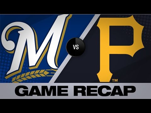 Video: Cain delivers game-winning knock in the 10th | Brewers-Pirates Game Highlights 7/5/19