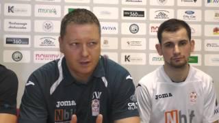 Wypowiedzi po meczu Nbit Gliwice - KGHM Euromaster Chrobry Głogów