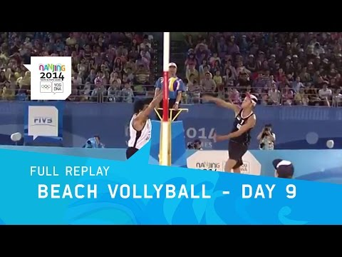 Beach Volleyball - Quarterfinals Mens | Full Replay | Nanjing 2014 Youth Olympic Games