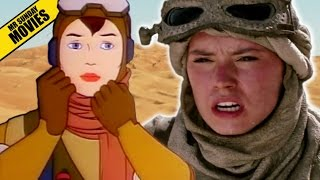 Rey's Weird Animated Origin - STAR WARS Caravan Of Garbage
