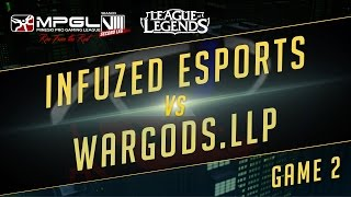 Infuzed vs Wardogs, game 2