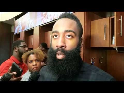 James Harden after Houston's 99-94 win over Dallas