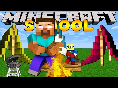 Beach - Minecraft School - Camping Mod Minecraft School Playlist : http://bit.ly/MinecraftSchool {Subscribe : http://bit.ly/LittleLizardGaming } We're back in school with TinyTurtle as our teacher!...
