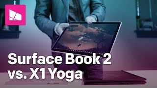 2-in-1 face off: Surface Book 2 vs. ThinkPad X1 Yoga (2018)
