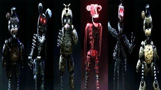 The Joy of Creation ALL ANIMATRONICS (EXTRAS). Watch more here: https://www.youtube.com/watch?v=NprrqDO7GfU❤ Help IULITM reach 2,000,000 Subscribers! ➥ http://bit.ly/IULITMTJOC Story Mode: http://gamejolt.com/games/tjocsm/139218Play through the eyes of Scott Cawthon and his family, as they try to survive inside their own home on the dreadful night that brought the horror into reality, the scorched beings whose origin and motives are yet unknown. Find the secrets lurking in the house, and uncover the mysterious events that led to the cancellation of the next game in the series.Don't forget to check out my brother's channel http://bit.ly/maryogamesPlease Subscribe: http://bit.ly/IULITMOfficial Site: http://www.scottgames.comFNAF Channel: https://www.youtube.com/user/animdude❤ GOD BLESS YOU ❤