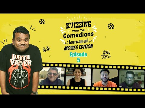 KVizzing With The Comedians Movies Edition || SF 1 feat. Gajraj, Shantanu, Smrutika and Vishwas