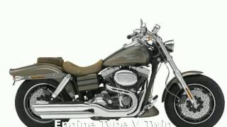 2. 2010 Harley-Davidson Dyna Glide CVO Fat Bob - Features