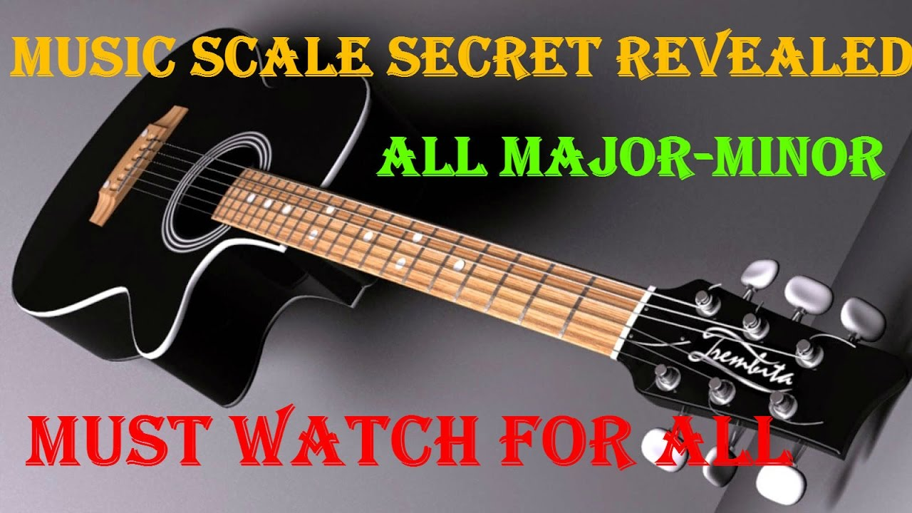 How To Learn Guitar Scales – Major/Minor Scales Lesson In Detail | Secret Revealed