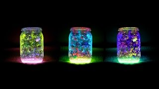 DIY Fairy Glow Jars - YouTube