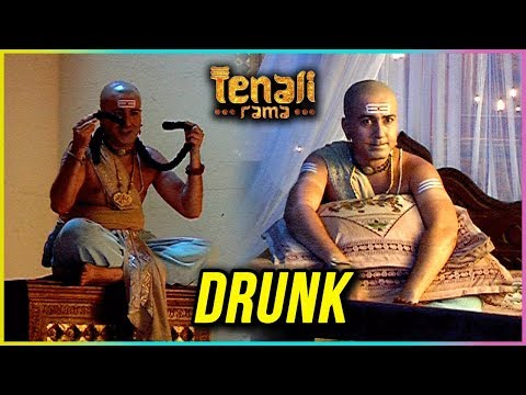 Tenali Rama Gets DRUNK During Holi | Tenali Rama