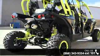 10. 2016 Can-Am Maverick Max X ds Turbo 1000R Carbon Black & ...