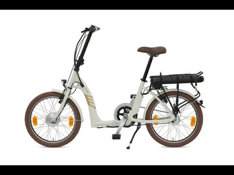 Folding Electric Bike Batribike Sigma European built Reveiw