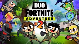 Download Video DUO FORTNITE ADVENTURE #2 (Animation) MP3 3GP MP4
