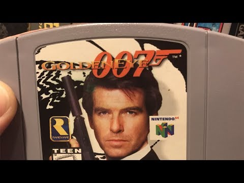 GoldenEye 007 (Nintendo 64) Review by Mike Matei (видео)