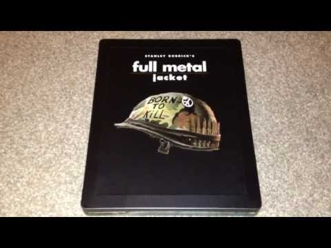 Full Metal Jacket UK Blu-ray Steelbook Unboxing