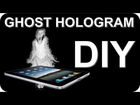 Paranormal Activity Hologram | DIY How To Make Using Cellphone or Tablet