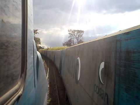Trem L20,Carregado,chegando em ZCD,cordeiropolis!