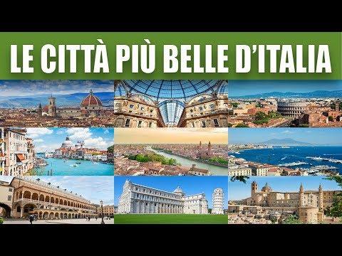Le 10 città italiane più belle видео