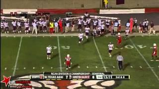 Ethan Westbrooks vs Winston-Salem State (2012)