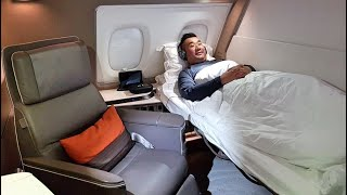 Video The BEST and BIGGEST FIRST CLASS SUITE - Singapore Airlines A380 MP3, 3GP, MP4, WEBM, AVI, FLV Desember 2018