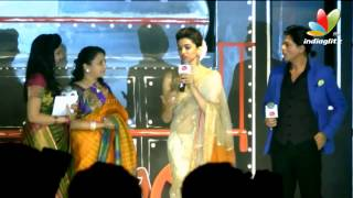 Deepika Talks About Rajini and Kochadaiyaan | Chennai Express Press Meet | Fashion Show
