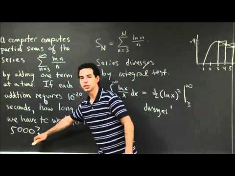Integral Test as Estimation | MIT 18.01SC Single Variable Calculus, Fall 2010